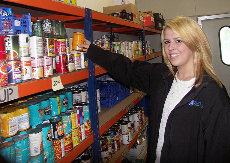 Food Bank Opens at the Seafield Lane site
