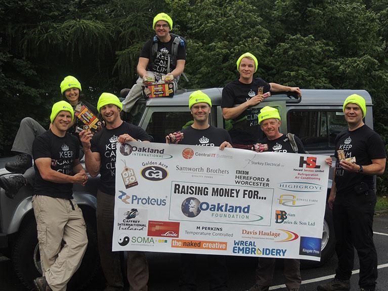 Oakland team climb Mt. Kilimanjaro in aid of the Oakland Foundation, raising over £10,000