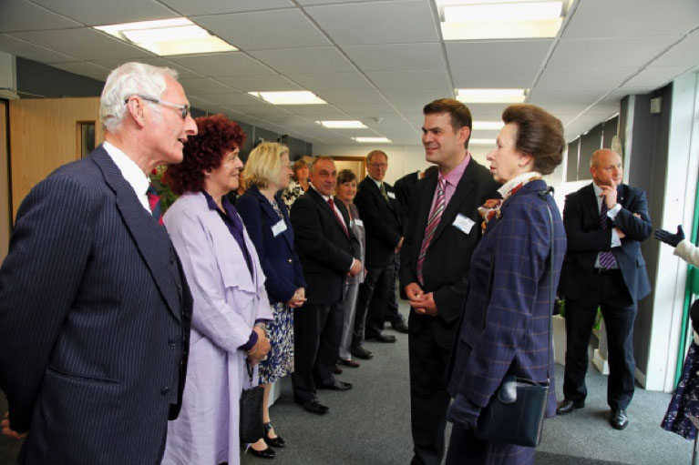 The Princess Royal Officially opened the Oakland Foundation