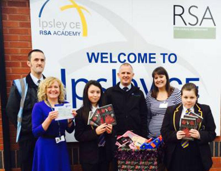 Oakland Foundation partnered with local school Ipsley RSA Academy