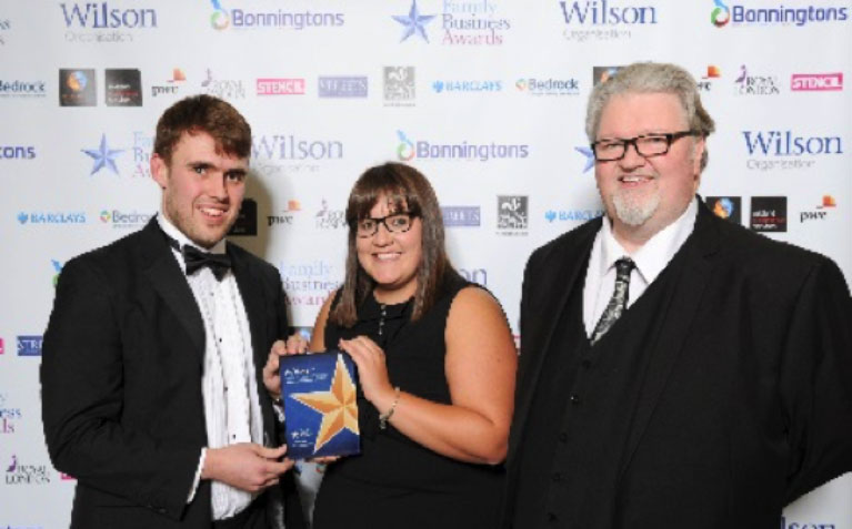 Winner of the Midlands Family Business Corporate Social Responsibility award