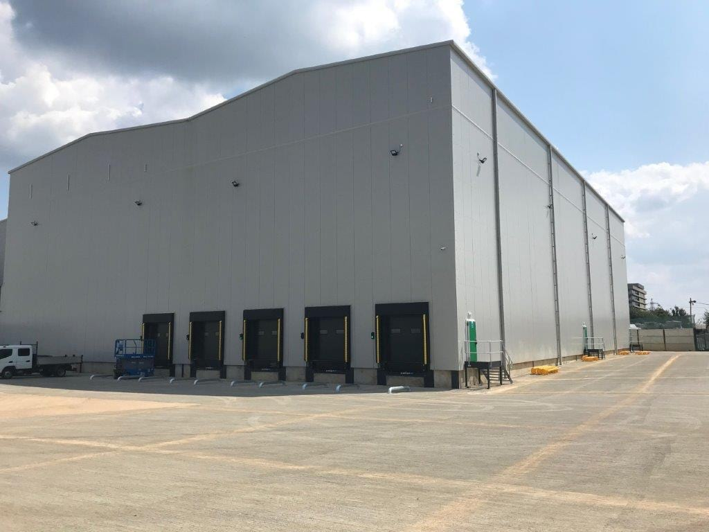 Built freezer at Corby site