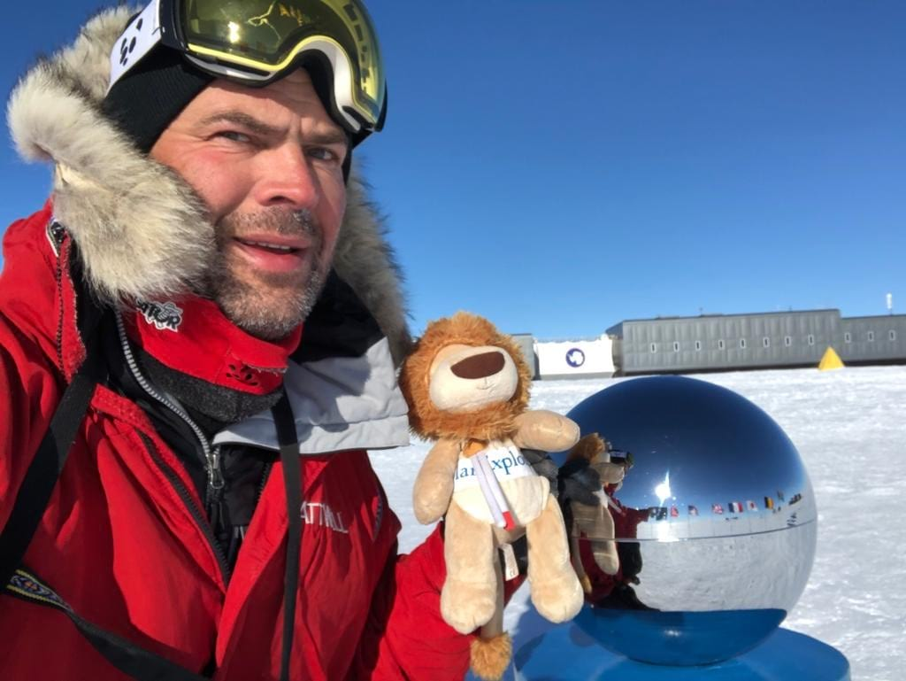 Dean Attwell CEO completes trek to South Pole raising £30,000 for charity Molly Olly Wishes