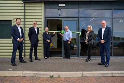 Opened new warehouse site at Bardon, Leicestershire creating up to 400 jobs
