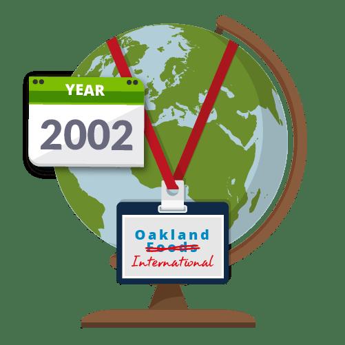Oakland Foods Ltd. changed its company name to Oakland International Ltd