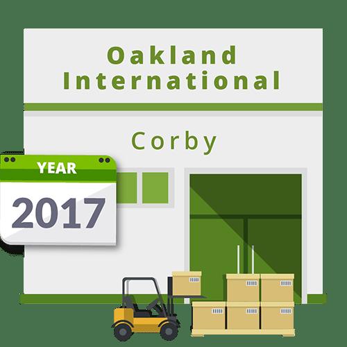 Oakland International opens new Corby Depot.