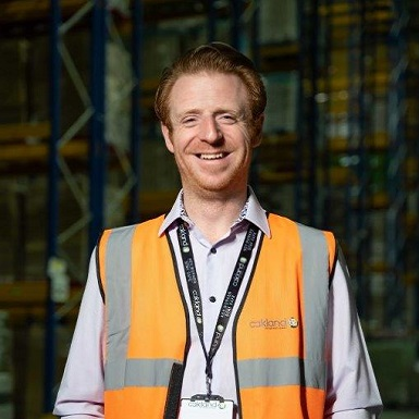 Martyn Chapman Warehouse Manager